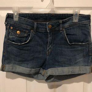 Size 8 regular waisted H&M Denim Shorts